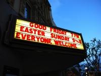 Insegna - A teatro a Monterey (California)