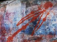 Graffito - Scrittura rupestre nel Kakadu National Park nella zona di Ubir - la più antica risale a 20.000 anni fa (Australia)