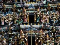 Tempio induista - La particolare ed elaborata struttura di un tempio induista