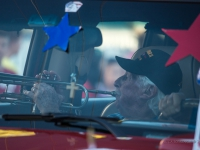 11 novembre veterans day parata, Key West, Mickey Belin 97 years old