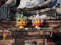 Altare buddhista - Altare alle rovine della capitale imperiale Sukhothai