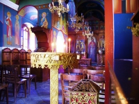 Chiesa ortodossa - Interno di una chiesa ortodossa in Grecia