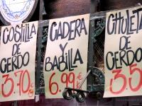 I prezzi del mercato centrale di Valencia