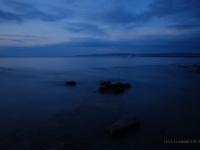 Golfo di Follonica dopo il tramonto da Cala Felice