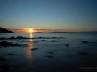 Tramonto sul Golfo di Follonica da Cala Felice