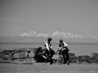 Gente di Taquile - A più di 3800 m slm, nel lago Titicaca, le isole sono abitate ancora oggi dai discendenti degli aimara e dei quechua
