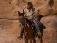 Beduino a cavallo