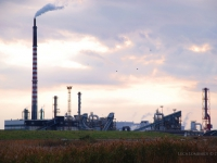 Industria - Complesso industriale nell'area della Maremma (Toscana)