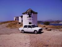 Ruderi - Mulini abbandonati sull'isola di Kos (Grecia)