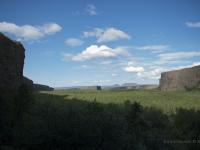 Valle a forma di ferro di cavallo Asbyrgi