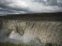 la cascata con la portata maggiore, Dettifoss