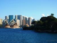 Sydney - Panorama visto dalla Baia di Sydney (Australia)
