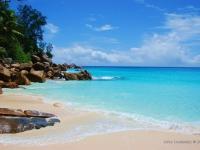 Anse Georgette - Spiaggia sull'isola di Praslin (Seychelles)