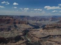 Colorado River - Di un azzurro intenso, il Colorado continua a plasmare il Grand Canyon (Arizona)