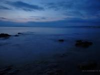 Golfo di Follonica - Dopo il tramonto il mare si calma nel golfo (Toscana)