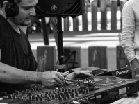 DJ nei giardini di Praca Dom Luis I