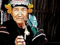 Anziana dei karen