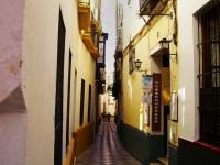 Barrio - Vicolo nel quartiere ebraico di Siviglia (Spagna)
