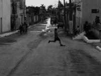 Calcio per strada - Giochi per le strade di Trinidad (Cuba)
