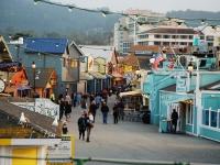 Molo Monterey - Passaggiare sui vecchi moli ristrutturati (California)