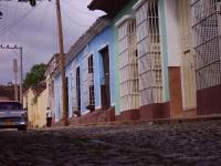 Pavè di Trinidad - Le strade di un tempo e le case colorate di Trinidad (Cuba)