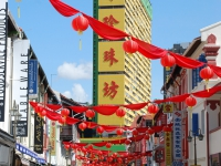"""Quartiere cinese - E' festa nella """"china town"""" di Singapore"""