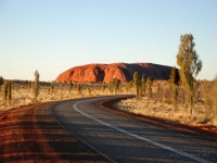 Red Center - Lungo la Red Center Way nell'outback (Australia)